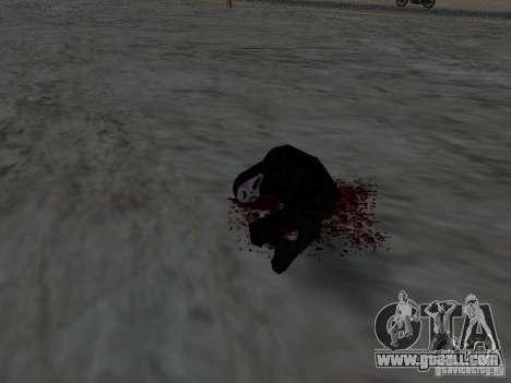 Hurt by a shot for GTA San Andreas forth screenshot