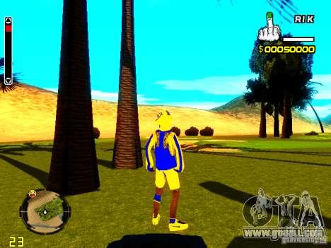 Skin bum v2 for GTA San Andreas third screenshot