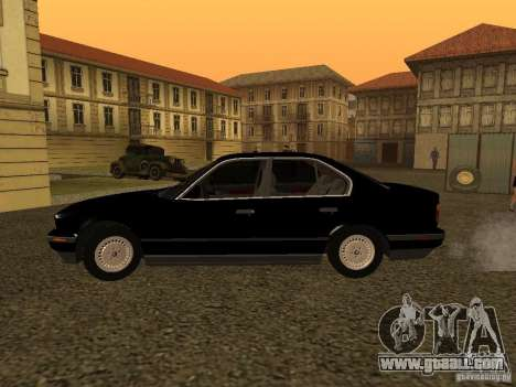 BMW 535i for GTA San Andreas left view