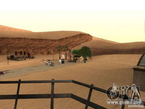 New facilities for the airport in the desert for GTA San Andreas