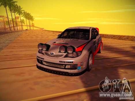 Subaru Impreza WRX STi N14 Rallycross for GTA San Andreas right view