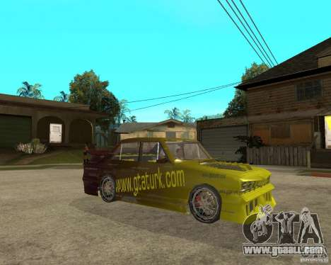 Anadol GtaTurk Drift Car for GTA San Andreas right view