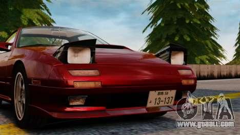 Mazda Savanna RX-7 for GTA 4 back view