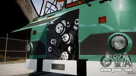 LIAZ 677 v2.0 for GTA 4 side view