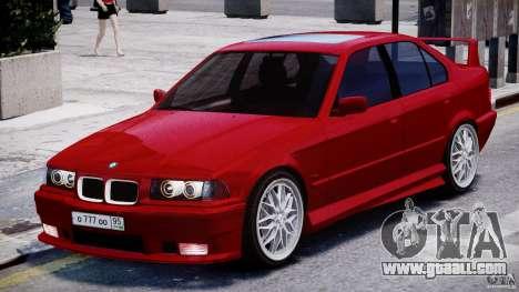 BMW 318i Light Tuning v1.1 for GTA 4 left view