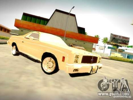 Chevrolet El Camino 1976 for GTA San Andreas