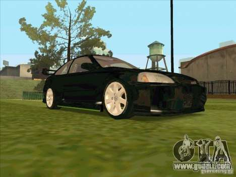 Honda Civic Coupe 1995 from FnF 1 for GTA San Andreas side view