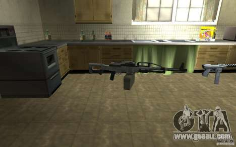 PKP Pecheneg Machine Gun for GTA San Andreas