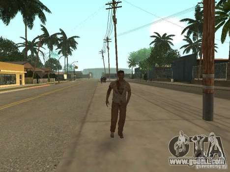 Zombie for GTA San Andreas second screenshot