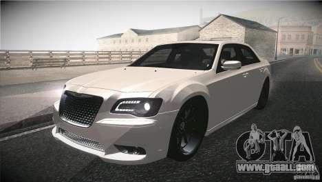 Chrysler 300 SRT8 2012 for GTA San Andreas