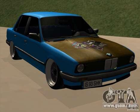 BMW E30 325e Duscchen for GTA San Andreas
