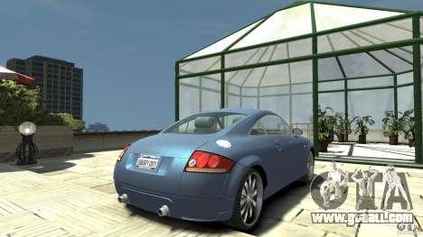 Audi TT 1.8 (8N) for GTA 4 back left view