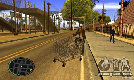 Shopping Cart Faggio V2 for GTA San Andreas