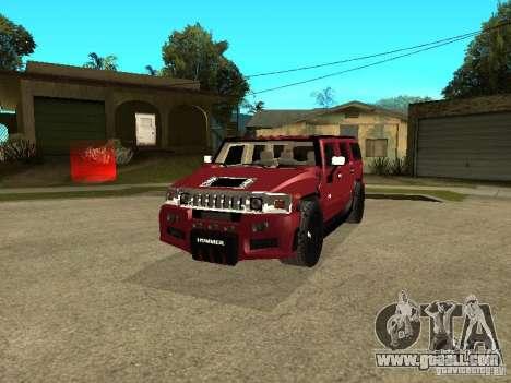 Hummer H2 Tuning for GTA San Andreas