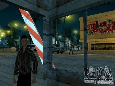 Drag route v 2.0 Final for GTA San Andreas forth screenshot