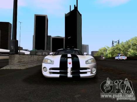 Dodge Viper SRT-10 Custom for GTA San Andreas side view