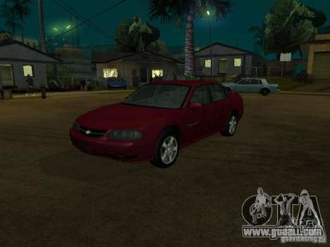 Chevrolet Impala 2003 for GTA San Andreas