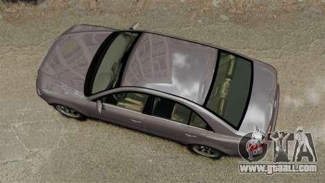 Hyundai Sonata 2008 for GTA 4 right view
