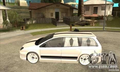 Citroen C5 Break for GTA San Andreas left view