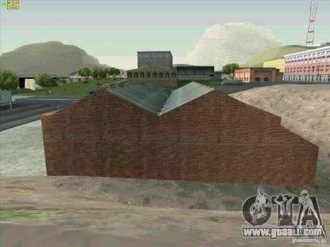 New garage in Doherty for GTA San Andreas seventh screenshot