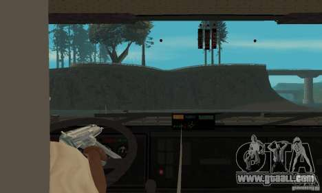 KAMAZ 65226 Tai v1.1 for GTA San Andreas back view