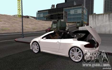 Peugeot 307CC BMS for GTA San Andreas side view
