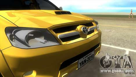 Toyota Hilux SRV 4x4 for GTA Vice City right view