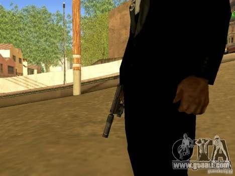 USP45 Tactical for GTA San Andreas third screenshot
