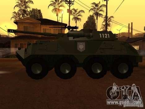 APC-60FSV for GTA San Andreas left view