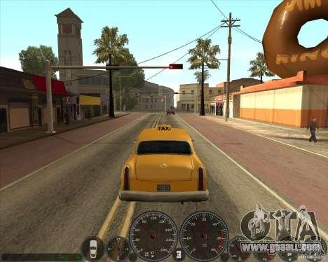 memphis Speedometer v2.0 for GTA San Andreas third screenshot