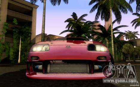 Toyota Supra Top Secret for GTA San Andreas right view