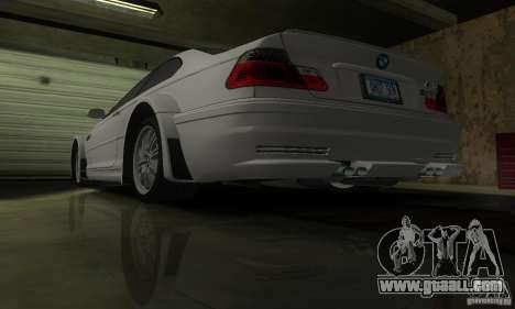 BMW M3 Tuneable for GTA San Andreas interior