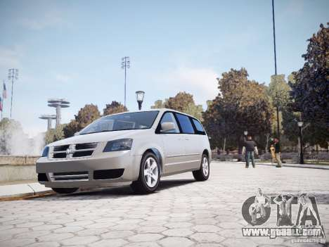 Dodge Grand Caravan SXT 2008 for GTA 4 inner view