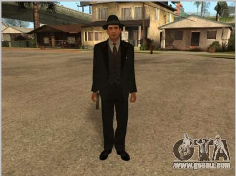 Skins La Cosa Nostra for GTA San Andreas
