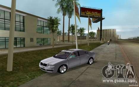 Skoda Superb 2.2 v.4 final for GTA Vice City