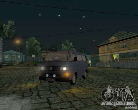 Volkswagen Transporter T3 for GTA San Andreas side view