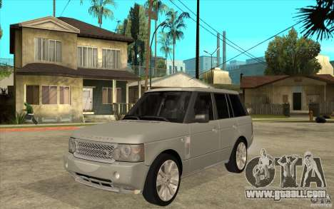 Land Rover Range Rover Supercharged 2009 for GTA San Andreas