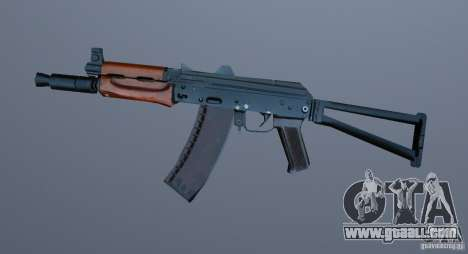 AK-74y for GTA Vice City second screenshot
