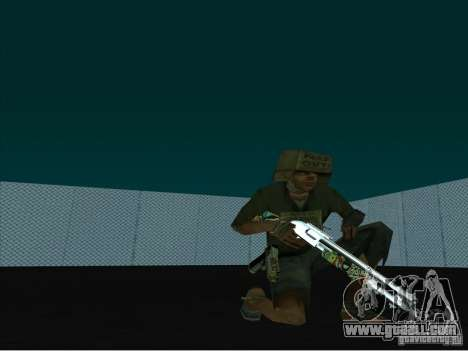 New Weapons Pack for GTA San Andreas second screenshot