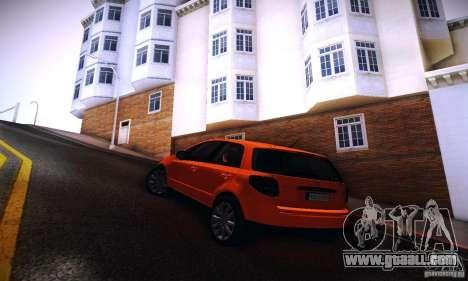 Suzuki SX4 Sportback Black 2011 for GTA San Andreas left view