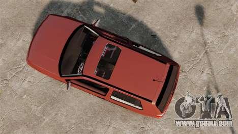 Volkswagen Golf MK3 Turbo for GTA 4 right view