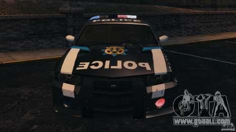 NFSOL State Police Car [ELS] for GTA 4 inner view