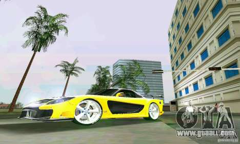 Mazda RX7 VeilSide for GTA Vice City left view