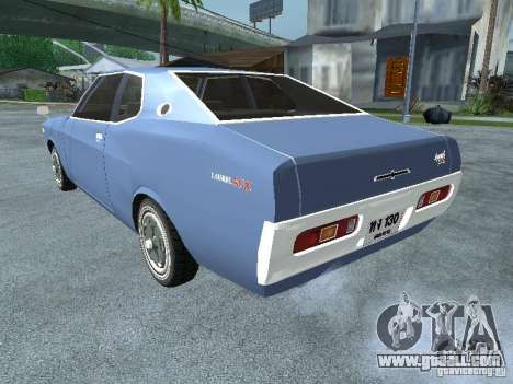 Nissan Laurel C130 for GTA San Andreas left view