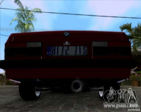 BMW 5-er E28 for GTA San Andreas back view
