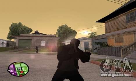 German WWII Knife for GTA San Andreas third screenshot