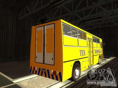 Technical Ikarus 280 for GTA San Andreas right view