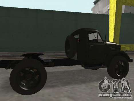 GAZ 51 p for GTA San Andreas back left view