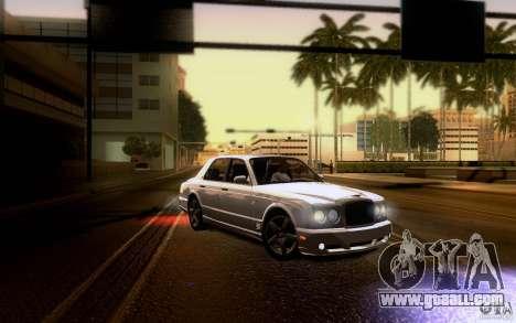 Bentley Arnage for GTA San Andreas engine