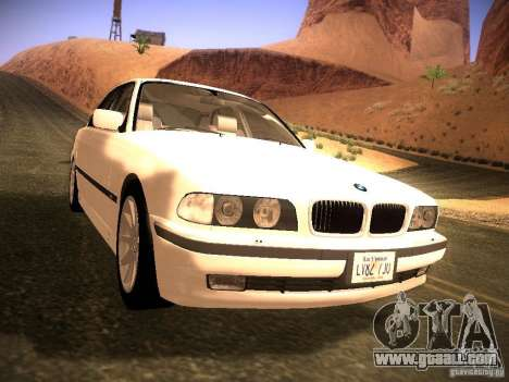 BMW 730i e38 1997 for GTA San Andreas